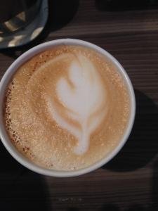 My first ever [successful] latte art